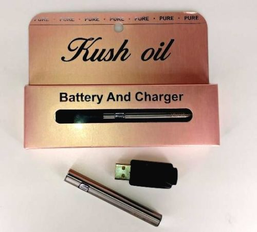 kush oil reusable pen and charger