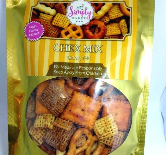 """""""Simply Baked"""" Chex Mix"""